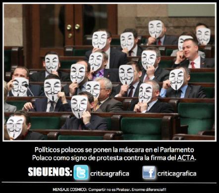полски политици срещу акта
