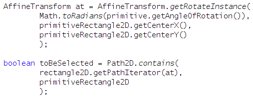 AffineTransform-PathIterator