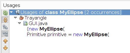 MyEllipse-izpolzvane