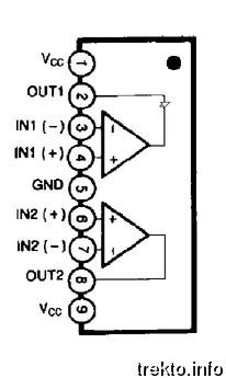 LM358 крачета